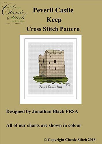 Peveril Castle Keep Cross Stitch ()