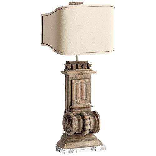- Cyan Design 'Loft' Limed Gracewood 2-light Table Lamp