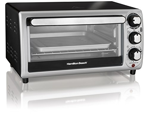 Hamilton Beach 31142 Toaster Oven Silver Import It All