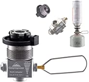 camping moon CAMPINGMOON Outdoor Gas Refill Adapter EN417 Lindal Valve(Vent Valve Equipped Type)
