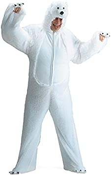 Carnival Toys 25916 – Oso polar de peluche, Señor Disfraz ...