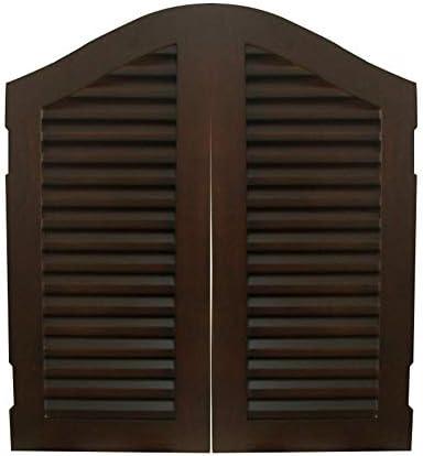 LIANGLIANG 回転カフェドア、アメリカの国ヨーロッパスタイルの牧歌的な金属ヒンジ肥厚スプリングバードアウエストドアフェンスドアカウボーイドア、 カスタムメイド (Color : A, Size : 100x80cm)