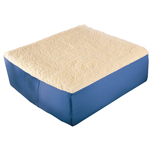 - Extra Thick Foam Chair Cushion, Blue