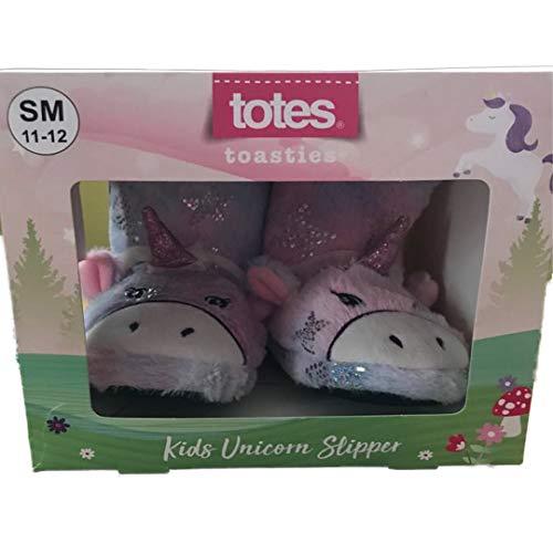 totes Toasties Girls Unicorn Slippers Booties