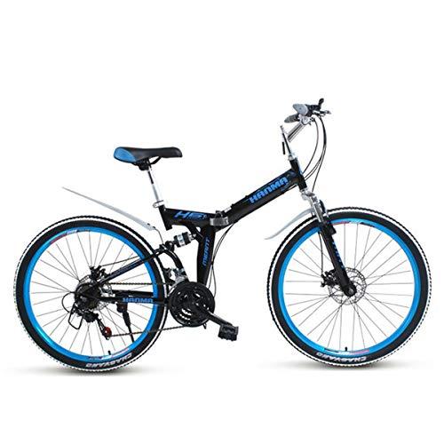(Dapang Mountain Bike,26'' Wheel Lightweight Steel Frame 21/27 Speeds Shimano Disc Brake,Black,21speed)