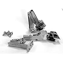 Blum CLIP top BLUMOTION Soft-Close Hinges, 110 degree, Self closing, Face Frame, with Mounting Plates (Inset - 8 pack)
