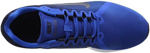 Nike Men's Downshifter 8 Competition Running Shoes Grey (Blue Nebula/Dark Obsidian-navy-white-black 401) 28PM2wly