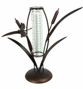 Toland Home Garden 210603 Cattail Rain Gauge Outdoor, Home, Garden, Supply, Maintenance
