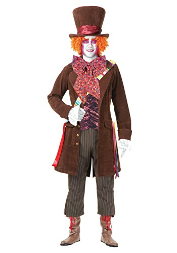Electric Mad Hatter Costume-L (Men Mad Hatter Costume)