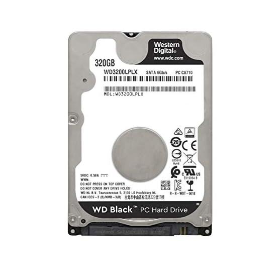 WD Black Performance 320 GB 2.5-Inch SATA 6Gb/s 7200 RPM 32MB Cache Mobile Hard Disk Drive (WD3200LPLX) 41ph yQMufL. SS555