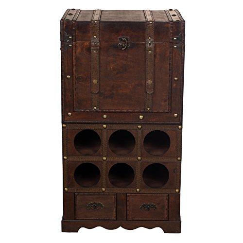 Estantera-FM-197-botellero-con-2-cajones-y-compartimento-76-cm-de-alto-madera-cofre-del-tesoro-de-caja-caja-de-piratas-muebles-pequeos-con-metlicos-diseo-antiguo-madera-Maritim-decorativo-de-alta-cali