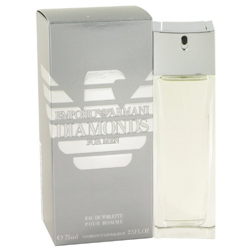 Emporiŏ Armȃni Diamŏnds Cologne for Men 2.5 fl oz Eau De Toilette - Giorgio For Emporio Armani Men By Armani