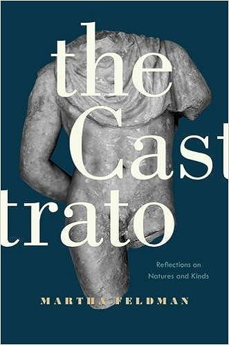 Laden Sie elektronische Bücher herunter The Castrato: Reflections on Natures and Kinds (Ernest Bloch Lectures) 0520279492 PDF