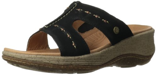 Acorn Kvinners Vista Glidekile Sandal Svart