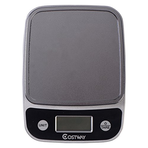 Price comparison product image LCD Digital Kitchen Weight Scale 5Kg x 1g Food Diet Postal Slim 11lb x 0.04oz