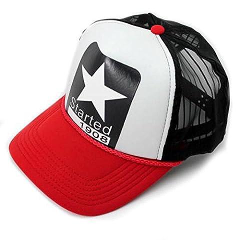 Adjustable Men Women Hip-Hop Hat Trucker Baseball Golf Mesh Cap Snapback Unisex - Nba Jazz Lamp