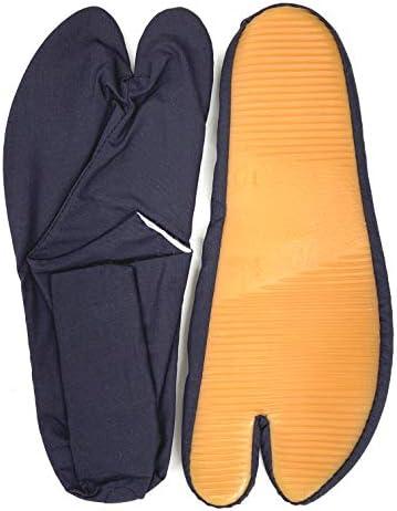 ゴム底足袋 白/濃紺 2色 サイズ 14cm~29cm