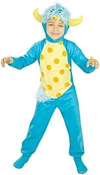 Disfraz de monstruo talla 7-9 años que incluye traje y gorro: Amazon ...