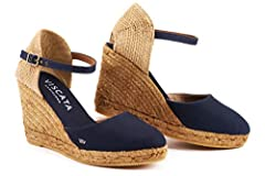 VISCATA ESPADRILLES ARE 100% AUTHENTIC AND HANDCRAFTED IN SPAIN Inspired by the mediterranean, Viscata shoes are lightweight and made of natural jute rope, premium leathers, suedes and woven cloth. Espadrilles originate from the early esparto...