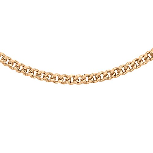 Carissima Gold - Chaîne maille gourmette - Or rose 9 cts - 56 cm - 5.13.6796