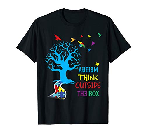 (Autism Awareness T-Shirt Gift For Mom Dad Kids)