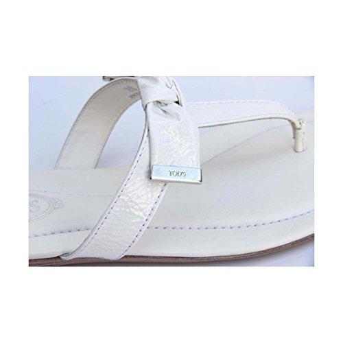 Tods Ladies Flat Sandal XXW0II0A120ATSB001