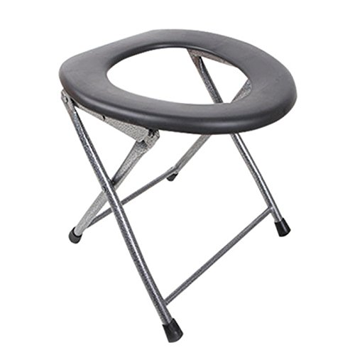Folding Toilet Stool - Portable Folding Stool Toilet - Portable Folding Toilet Stool Old Pregnant Women Sit Chair Travel Camping (Portable Toilet -