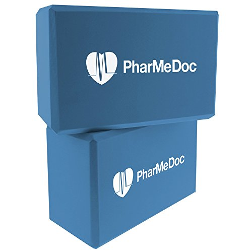 PharMeDoc Foam Yoga Blocks Set