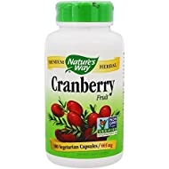 Nature's Way Premium Herbal Cranberry Fruit, 930 mg per serving, 180 Capsules