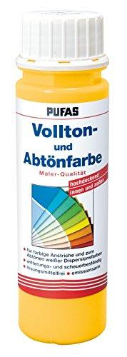PUFAS Vollton- und Abtö nfarben dunkelbraun 0, 75 Liter
