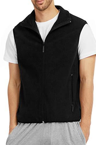 ET TU Men's Zip Up Polar Fleece Vest