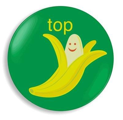 Jane Jenni Melamine Plate - Top Banana: Amazon.co.uk: Kitchen & Home
