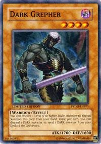 (Yu-Gi-Oh! - Dark Grepher (PTDN-EN000) - Phantom Darkness - Unlimited Edition - Secret Rare)