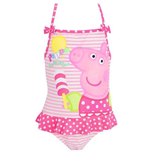 Peppa Pig Girls' Peppa Pig Swimsuit 4