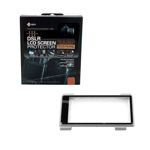 GGS III Generation DSLR LCD Screen Protector for Sony Nex-5 Nex-3 Silver