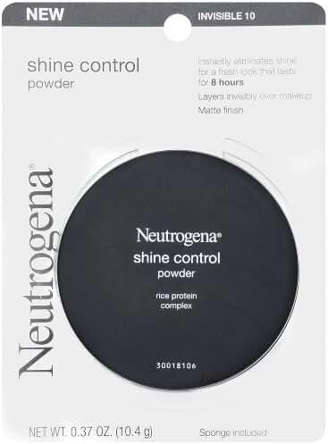 Neutrogena Shine Control Powder Invisible 10, 0.37 Ounce