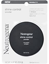 Neutrogena Shine Control Powder Invisible 10, 0.37 Ounce