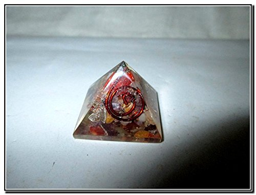 New Chakra Single Baby Pyramid 20 - 25 mm Chokurei X-mas Crystal Gemstones Rare Unique Marvelous Fantastic Exquisite Beautiful Copper Metal Mix Rare Healing Positive Energy Tetrahedron EMF Protection Sacred Geometry Memory Concentration Meditation Spiritual Psychic Piezo Electric Effect Business Prosperity Success Destress Anxiety Disorder Love Christmas Air Water Earth Fire Spirit