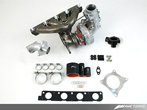 AWE Tuning 7030-11028 FSI K04 Turbocharger Kit (hardware only, no software, no fuel injector kit)