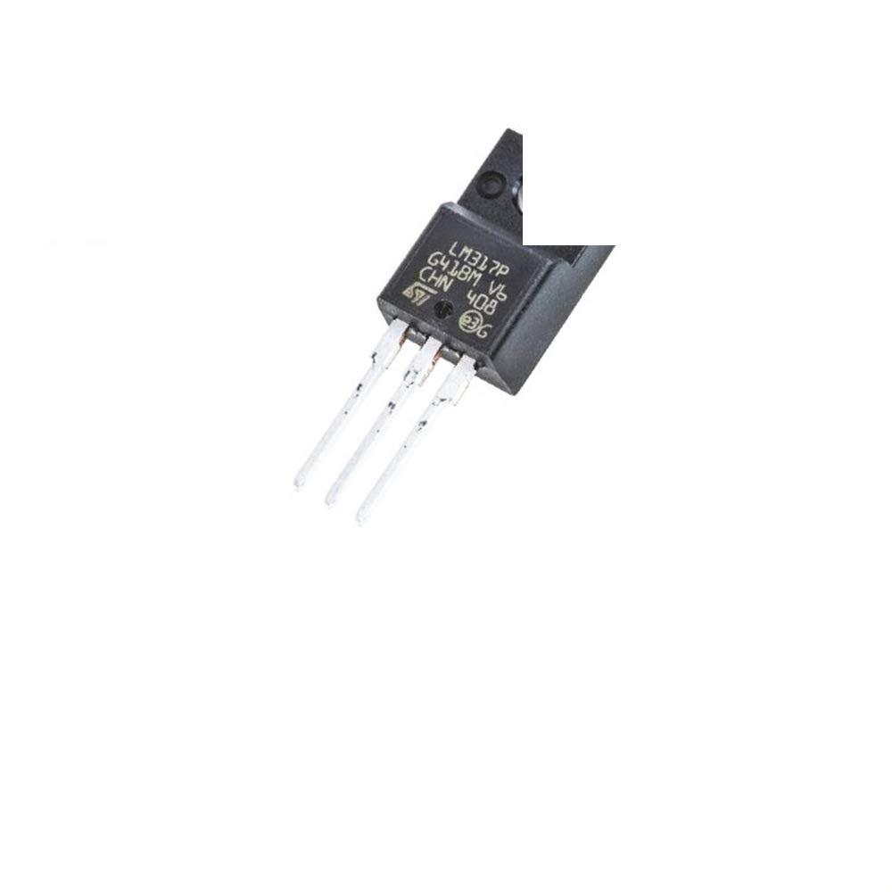 10Pcs LM317P Linear Regulator 1.2-37 V TO220 ST