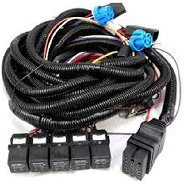 Amazon.com: Boss Part # MSC08001-2008-Up Vehicle Side Wiring Harness  13-Pin: Automotive