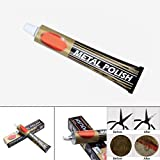 Nicknocks 100g Metal Polish Solve Paste Rust Remover Chrome Cleaner for Car Bike Bicycle