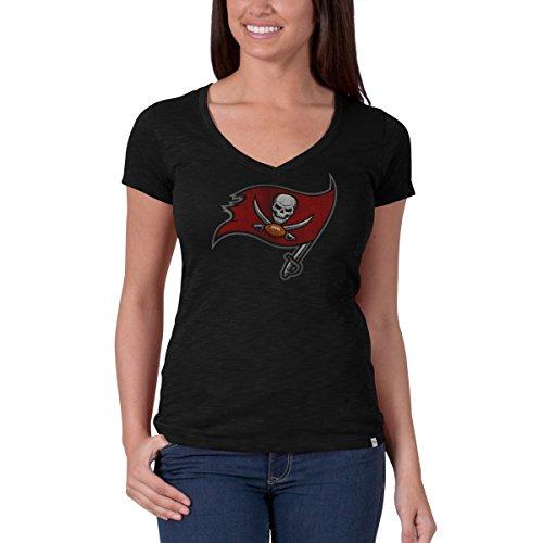 47 NFL Tampa Bay Buccaneers Women s V-Neck Scrum Tee fad9c35af