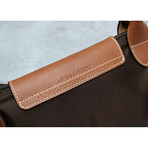 Women 203 Leather Canvas Shoulder 653 Delamode Big Long Bag Champ Handbags Capacity Big Folding d6xZxOwAYq