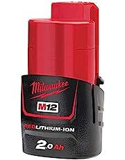 Milwaukee Accumulator 4932430064 M12B2 12V/2,0Ah Li-Ion, 12 V, Multi