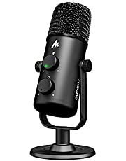 Maono AU 903 USB Cardioid Omnidirectional Condenser Microphone for Voice Overs Recording Podcasting YouTube Karaoke