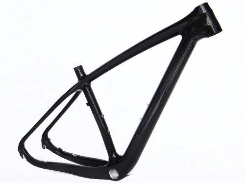 フルカーボン光沢29インチマウンテンバイクMTBサイクリングBSAフレーム15.5