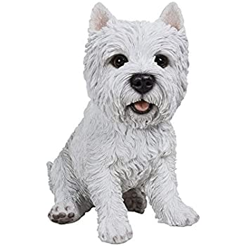 Check Out These Bargains On Westie Terrier Garden Statue