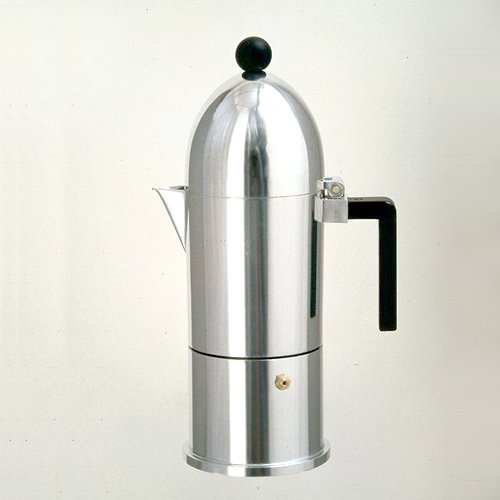 Alessi 9095/3 B La Cupola Espresso Coffee Maker 3 Cups by Alessi