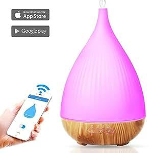 Amazon.com: 300ml Smart WI-FI Essential Oil Diffuser